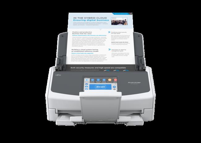 Fujitsu Scansnap Ix1500 Wifi Und Duplex Dokumenten Scanner